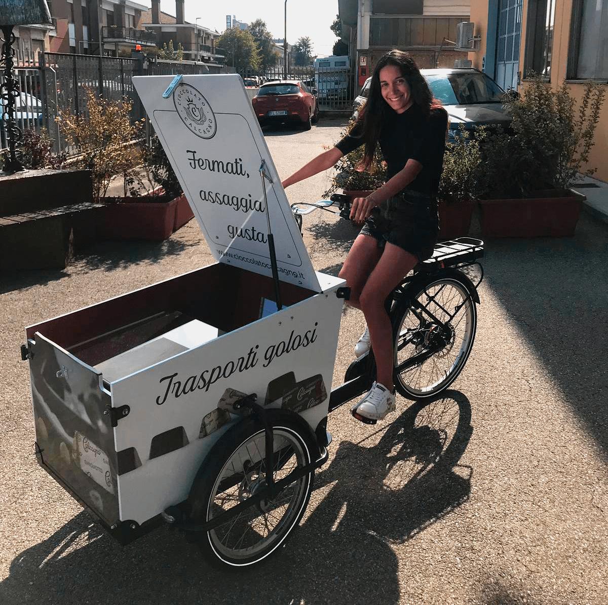Cargo Bike Cioccolato Calcagno